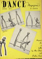 Dance Magazine, Vol. 25, no. 4, April, 1951