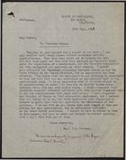 Letter from C. D. Bellamy to Mr Purkis re: Jamaican Labour, July 30, 1948