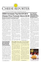 Cheese Reporter, Vol. 138, No. 42, Friday, April 11, 2014