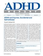ADHD and Injuries: Accidental and Self-Inflicted