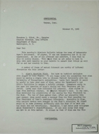 Letter from Armin H. Meyer to Theodore L.  Eliot, Jr. re: Updates, October 20, 1966