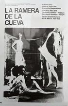 Flyer for a Production of La Ramera de la Cueva by Mario Peña.