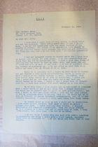 Letter from Carrie Chapman Catt to Margery Corbett Ashby, February 21, 1933