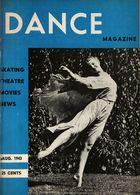 Dance Magazine, Vol. 17, no. 9, August, 1943