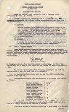 Wartime Meals Division: Monthly Report to War Cabinet for April 1941 re: Emergency Meals Service