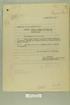 Memos from E. D. Anderson and Henry Jervey re: Firing on Mexican Territory by American Soldiers at Arroyo del Diablo, Texas, November, 1918