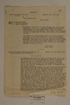 Betr.: Grenzverletzung [abschrift], 1946
