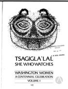 Tsagigla'lal: She Who Watches: Washington Women, A Centennial Celebration, vol. 1