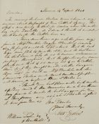 Letter from Alex Forbes to William Leslie, April 14, 1840