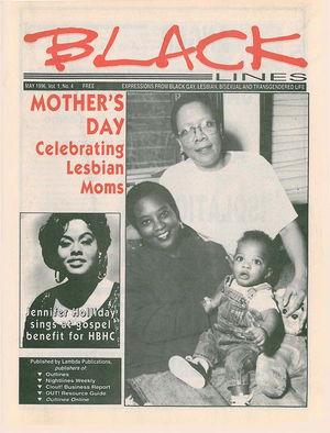 BLACKlines, Vol. 1 no. 4, May 1996