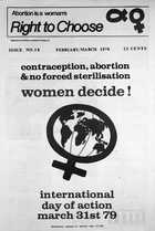 Abortion is a Woman's Right to Choose, Issue No. 18, February/March 1979