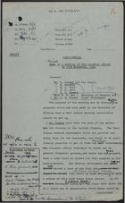 Colonial Office Minutes re: Draft of November 20 Meeting in Colonial Office, November 21, 1958