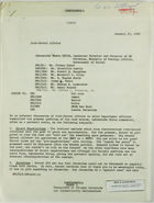 Memorandum of Conversation from Henry Precht re: Discussion of Arab-Israel Affairs with Moshe Bitan and State Department Officers, January 17, 1968
