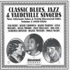 Classic Blues, Jazz & Vaudeville Singers Vol. 2 (1920-1926)