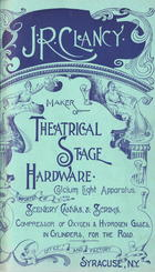 Catalogue of Theatrical Stage Hardware, no. 8