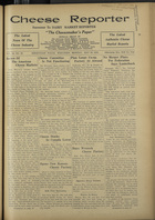 Cheese Reporter, Vol. 56, no. 38, May 30, 1932