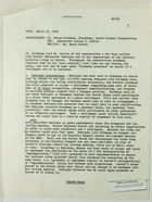 Memorandum of Conversation between Nahum Goldmann, Lucius Battle, and Henry Precht re: Political Scene in Israel, March 21, 1968