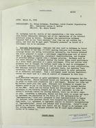 Memorandum of Conversation between Nahum Goldmann, Lucius Battle, and Henry Precht re: Political Scene in Israel, March 21, 1968