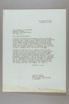 Letter from Mary van Kleeck and Susan B. Anthony (II) to Virginia Gildersleeve, November 8, 1945