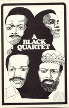 Playbill for A Black Quartet, a production of four plays produced by Woodie King at Tambellini's Gate Theatre, New York, July 30, 1969