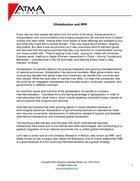 Globalization and RIM