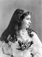 Helen Keller, 1893 (b/w photo)