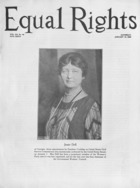 Equal Rights, Vol. 12, no. 49, January 16, 1926