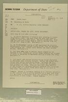 Telegram from USARMA Amman to Secretary of State, September 27, 1956