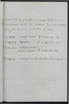 Accounts of Receipts and Expenditures in Connection with the Cuban Insurrection During the Last Six Months of 1896