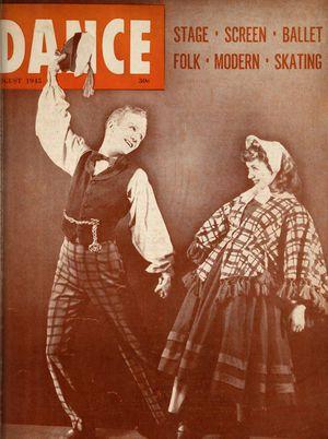Dance Magazine, Vol. 19, no. 8, August, 1945