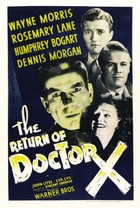 The Return of Doctor X (1939): Shooting script