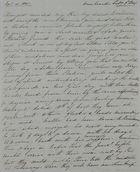 Letter from Elizabeth Veale MacArthur to Jane Davidson Leslie, February 3, 1841