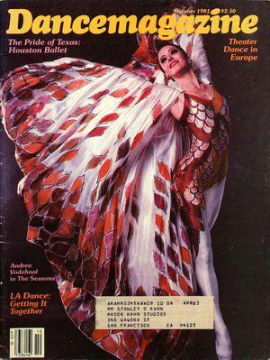 Dance Magazine, Vol. 55, no. 10, October, 1981