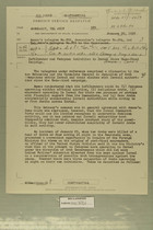 Foreign Service Despatch from William L. Hamilton Jr. to Department of State, Washington, January 29, 1957