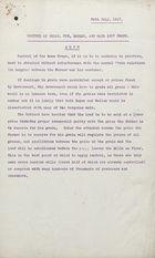 Control of Wheat Rye, Barley and Oats -1917 Crops
