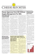 Cheese Reporter, Vol. 138, No. 3, Friday, July 12, 2013
