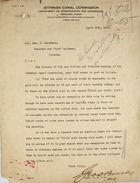Letter from George D. Brooke to Geo. W. Goethals re: Gold and Silver Roll Employees' Use of Coupons, April 20, 1909