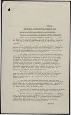 Annex B: Commonwealth Immigrants Bill: Committee Stage, December 5, 1961
