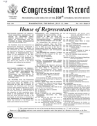 Congressional Record, Privileged Report On Resolution Directing Secretary Of State To Transmit Documents Relating To Treatment Of Prisoners And Detainees In Iraq, Afghanistan And Guantanamo Bay, July 22, 2004
