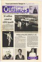 Chicago Outlines The Voice of the Gay and Lesbian Community Vol. 1 No. 18 October 1, 1987
