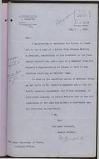 Memo from F. W. Campbell to Under Secretary of State, Colonial Office, re: Case of Abraham Walters, and Walters' Complaint of Mistreatment by Panamanian Government, July 20, 1908