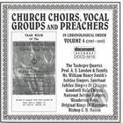 Church Choirs, Vocal Groups & Preachers Vol. 4 (1927-1943)