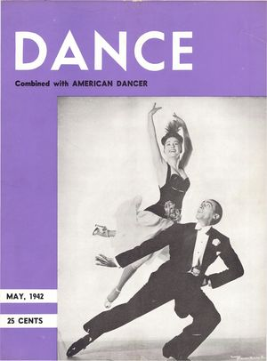 Dance Magazine, Vol. 15, no. 5,  May, 1942, Dance Combined with American Dancer, Vol. 15, no. 5, May, 1942