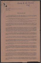 Annex 2 to Minister's Brief: Objections to Clean Air Act, 1956; Annex 3: Copy of Notice Sent to Tenants of Houses in the No. 1 Smoke Control Area, December 11, 1959