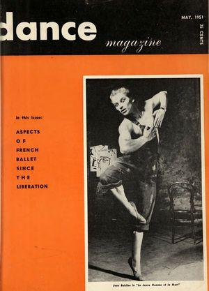 Dance Magazine, Vol. 25, no. 5, May, 1951