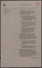 Cabinet Decision re: Passports, November 21, 1961