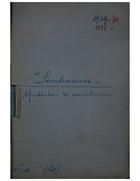 1928-30-1933. 'Souteneurs' sfruttatori di meretrici.