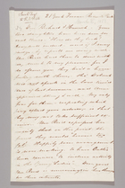 Letter from Sarah Pugh to Richard D. and Hannah Webb, March 6, 1853