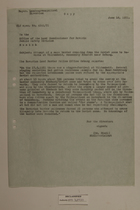 Memo from Dr. Reidl to the Office of the Land Commissioner for Bavaria Public Safety Division re: Attempt of a Mass Border Crossing from the Soviet Zone to Bavaria, June 18, 1951