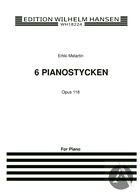 6 Pianostycken, Op. 118